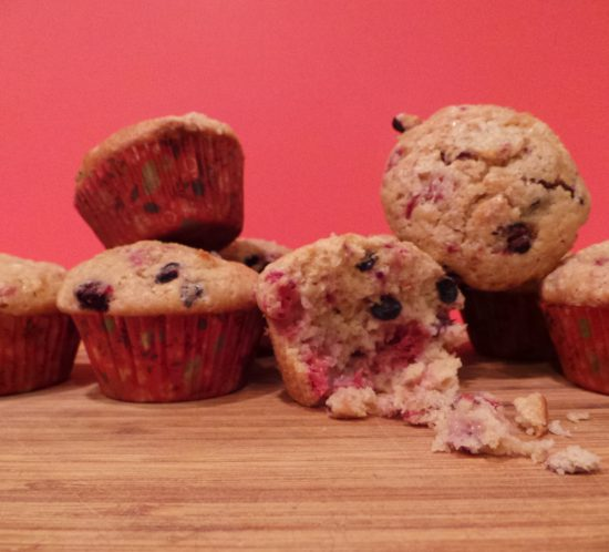 A Blue Christmas with Very Berry Muffins