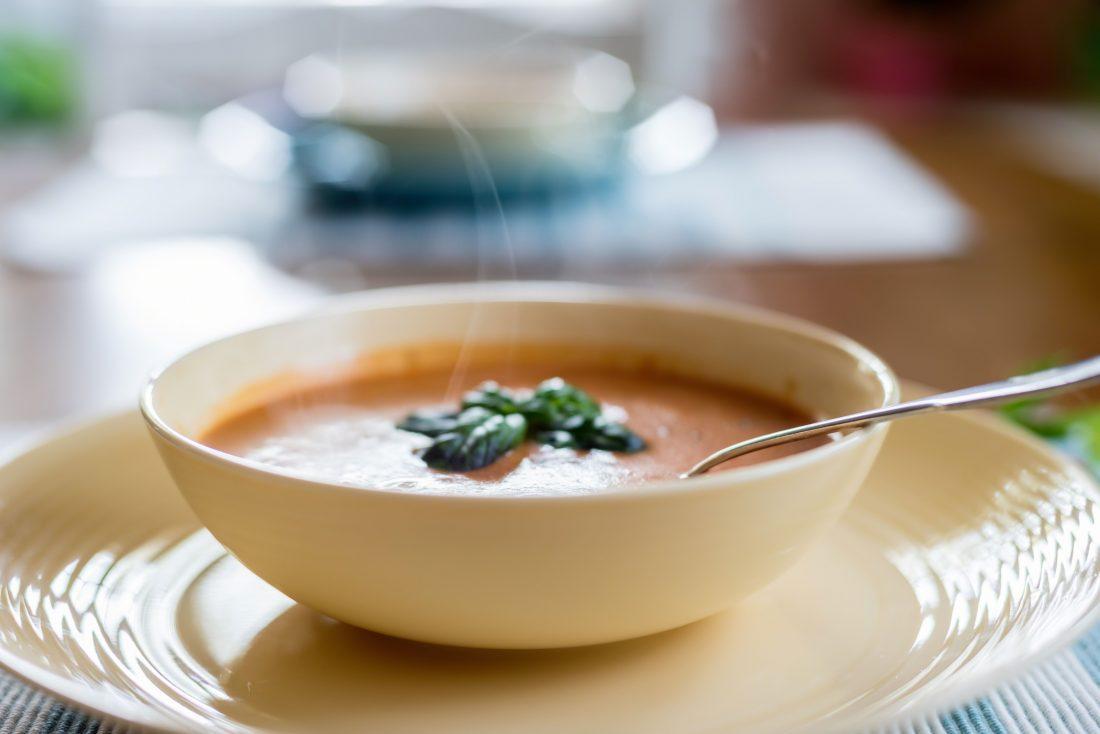 A Creamy Tomato Soup to Power You Through Xmas