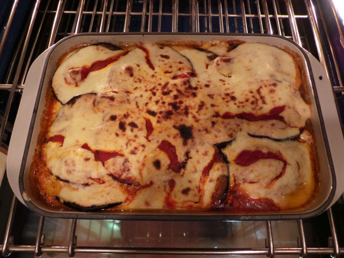 Dish of the Day: Baked Eggplant with Ricotta Cheese