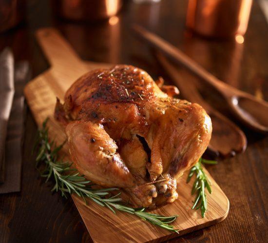 Rotisserie Chicken for Christmas Dinner!