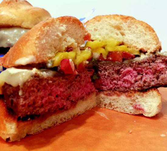 Score a Touchdown with the SUNDAY BEST BURGER!
