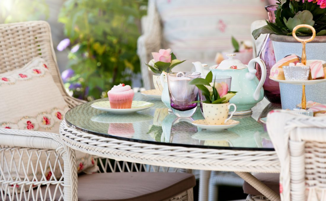 A Whimsical Tea Party For Mom…with Grown Up Cake