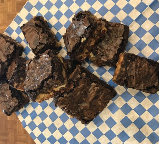Brownie Bars for Kiddos and Grandparents