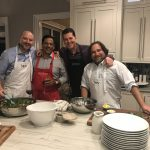A Dinner Party, Featuring Recipes from CANVAS AND CUISINE