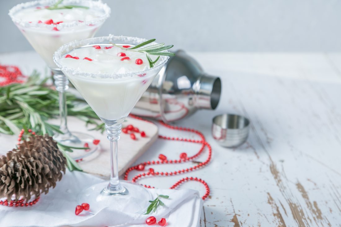 Ramp up the Holiday Cheer with this Christmas Punch