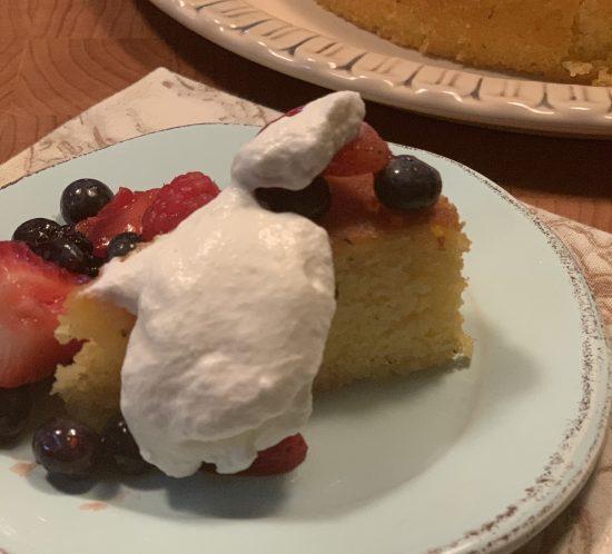 Boozy Desserts Are Trending So I Jazzed Up My Sunshine Cake