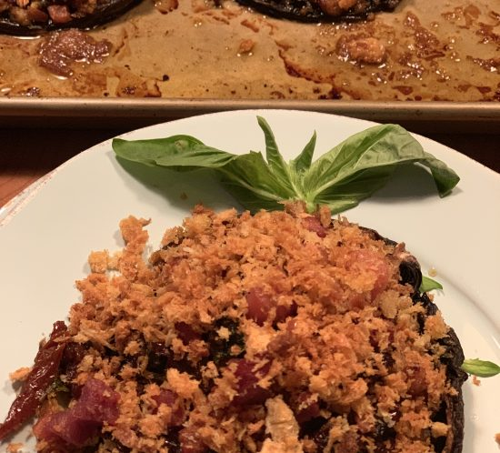 Book Signing Party Food: You'll Want This Stuffed Mushroom Recipe