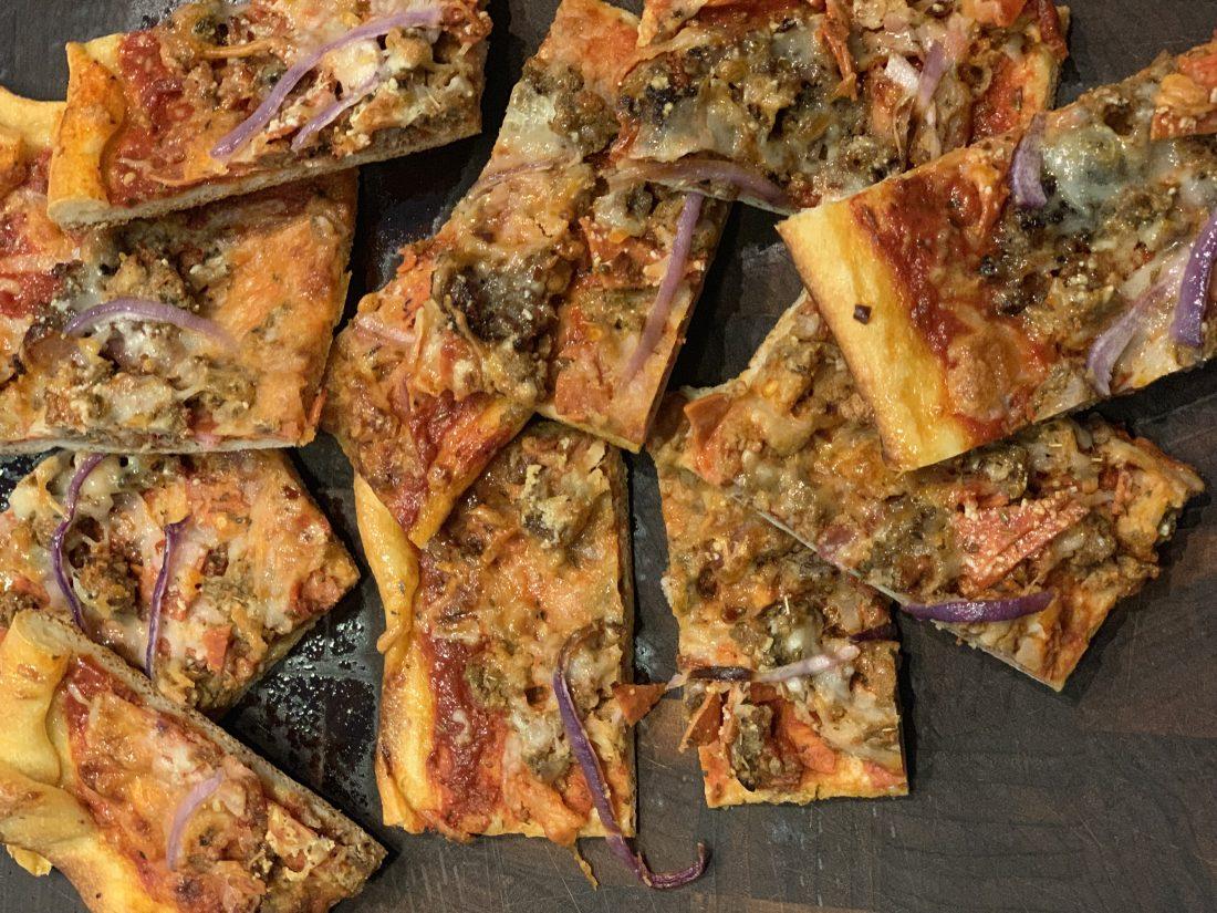 Square Pizza Recipe: It Tastes Just Like My Mama Made It!
