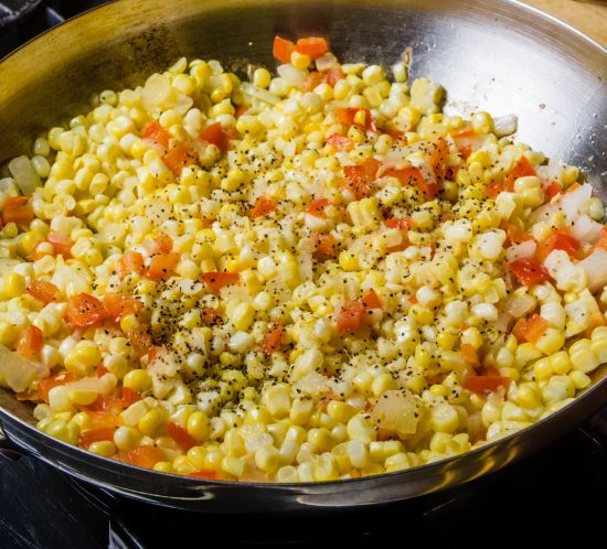 Easy Mexican Street Corn, Skillet Style