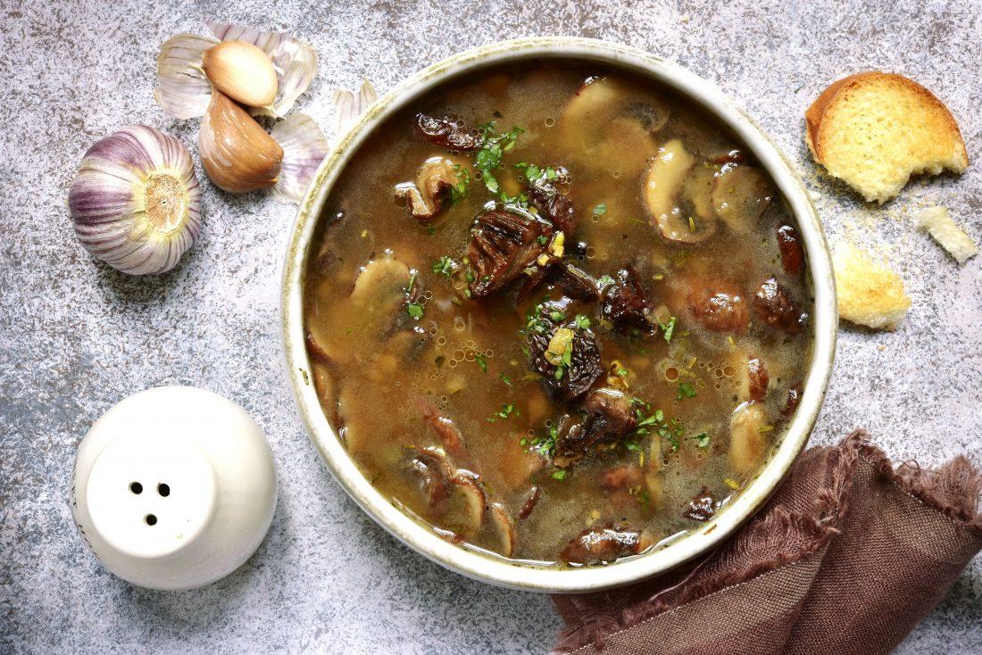 World's Fastest Fresh Soup Recipe: Cream of Mushroom