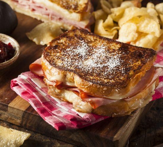 Yum! Monte Cristo Sandwiches after Thanksgiving!