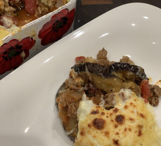 Fall Means Casserole Season: Moussaka Casserole